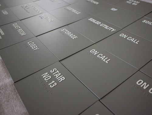 Tactile Signs Image