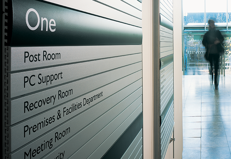 Wayfinding and directional sign systems