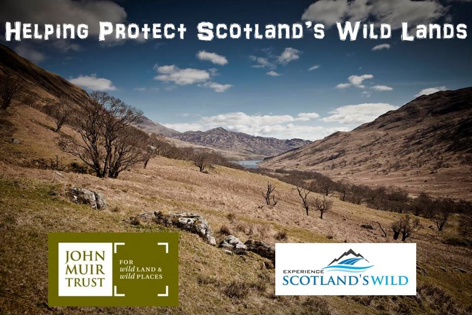 Helping support the John Muir trust look after Scotland's Unique Scenic Landscape