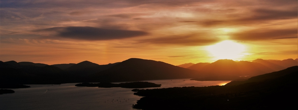Loch Lomond Sunset