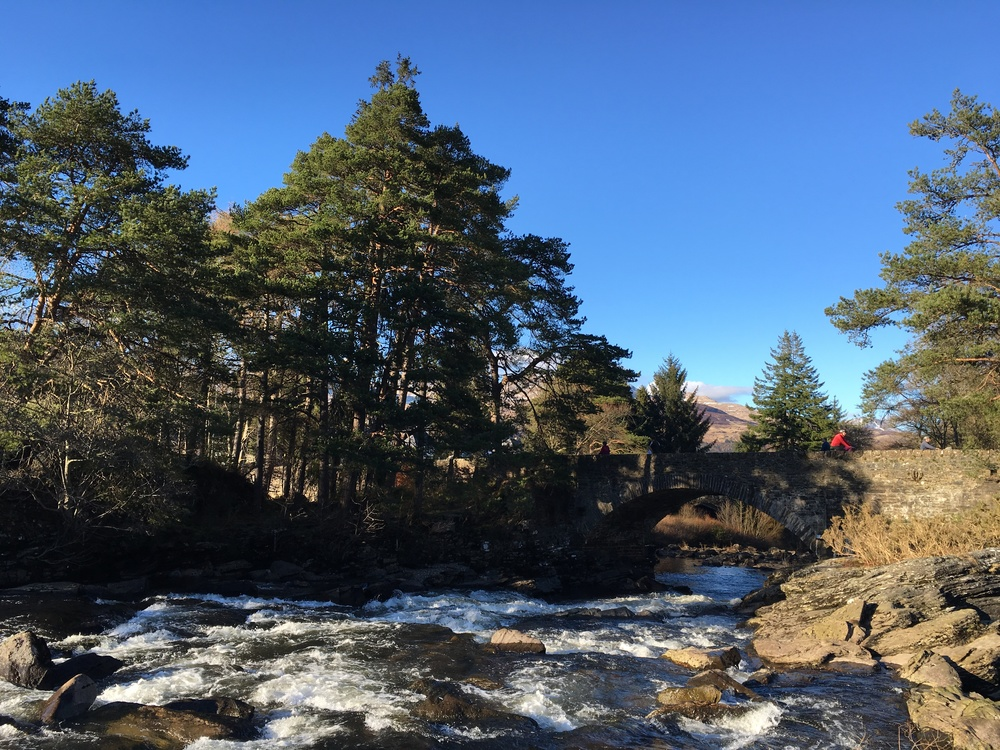 Falls of Dochart in Killin