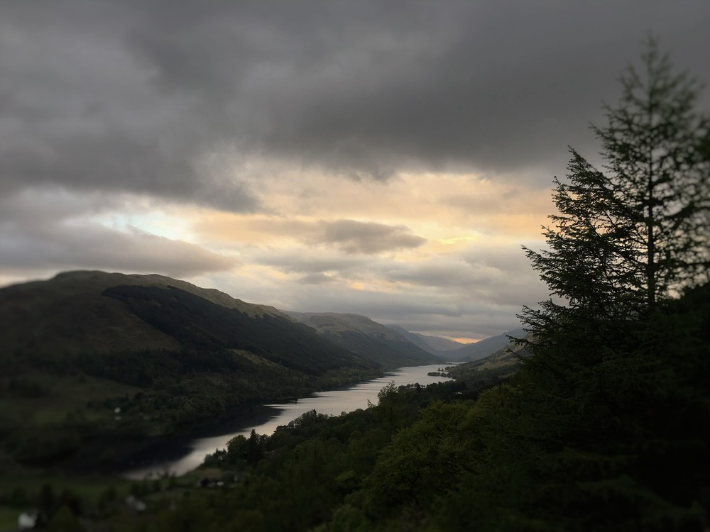 Balquhidder Glen, home of the resting place for the famous Rob Roy MacGregor. There's also a beautiful single track drive down the glen and fantastic walking when you get down there. Oh and the amazing scenery.