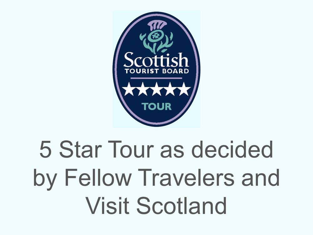 five star tours in scotland