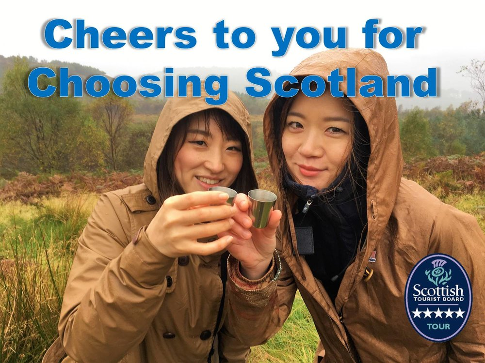 cheers for choosing scotland