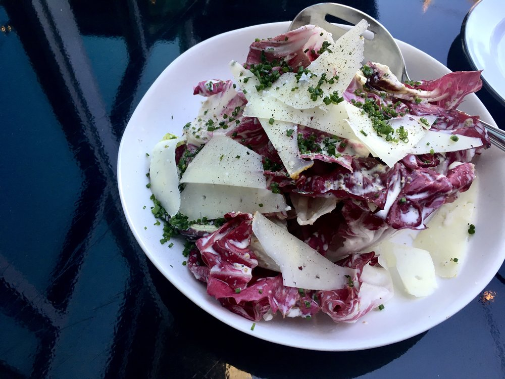 Little Brother's beautifully curated Radicchio Salad whose dressing sports our buttermilk