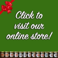 WE SHIP our famous canned goods! Gift boxes are available & make amazing packages to send to friends, family, or clients. All of our products are made with love! - Our most popular items include our Hot Garlic Pepper Jelly, Spicy Peanut Sauce, Dilly Beans, & Blueberry Jam!