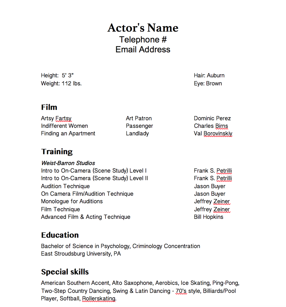ACTOR RESUME_CORRECTED