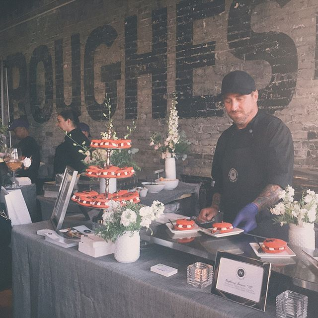 I always save room for dessert! Thanks to @theburroughes and all the amazing vendors at The Burroughs Open House yesterday. It was great catching up with friends in the industry and meeting new vendors ✨ #theburroughs #torontovenue