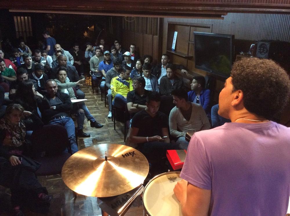 Luisito Quintero Afro-Latin Masterclass