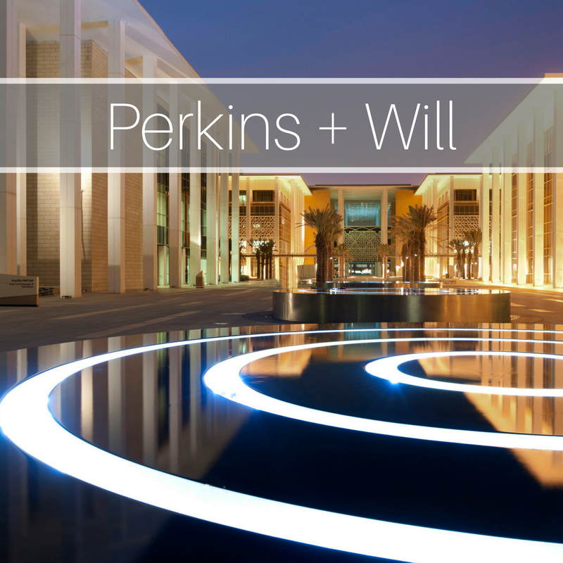 Perkins + Will Global: Media Strategy, Messaging, Profile Building, Insight Discovery