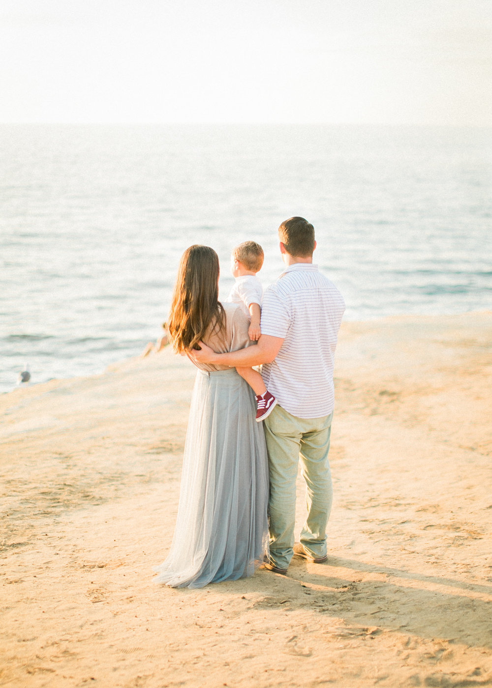 fine art film photography San Diego - lifestyle beach family photos