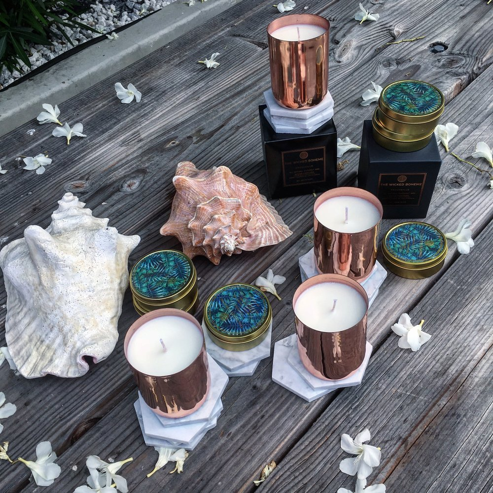 Stocklist on our Luxe Fragrance Line - Always inspired by travel...