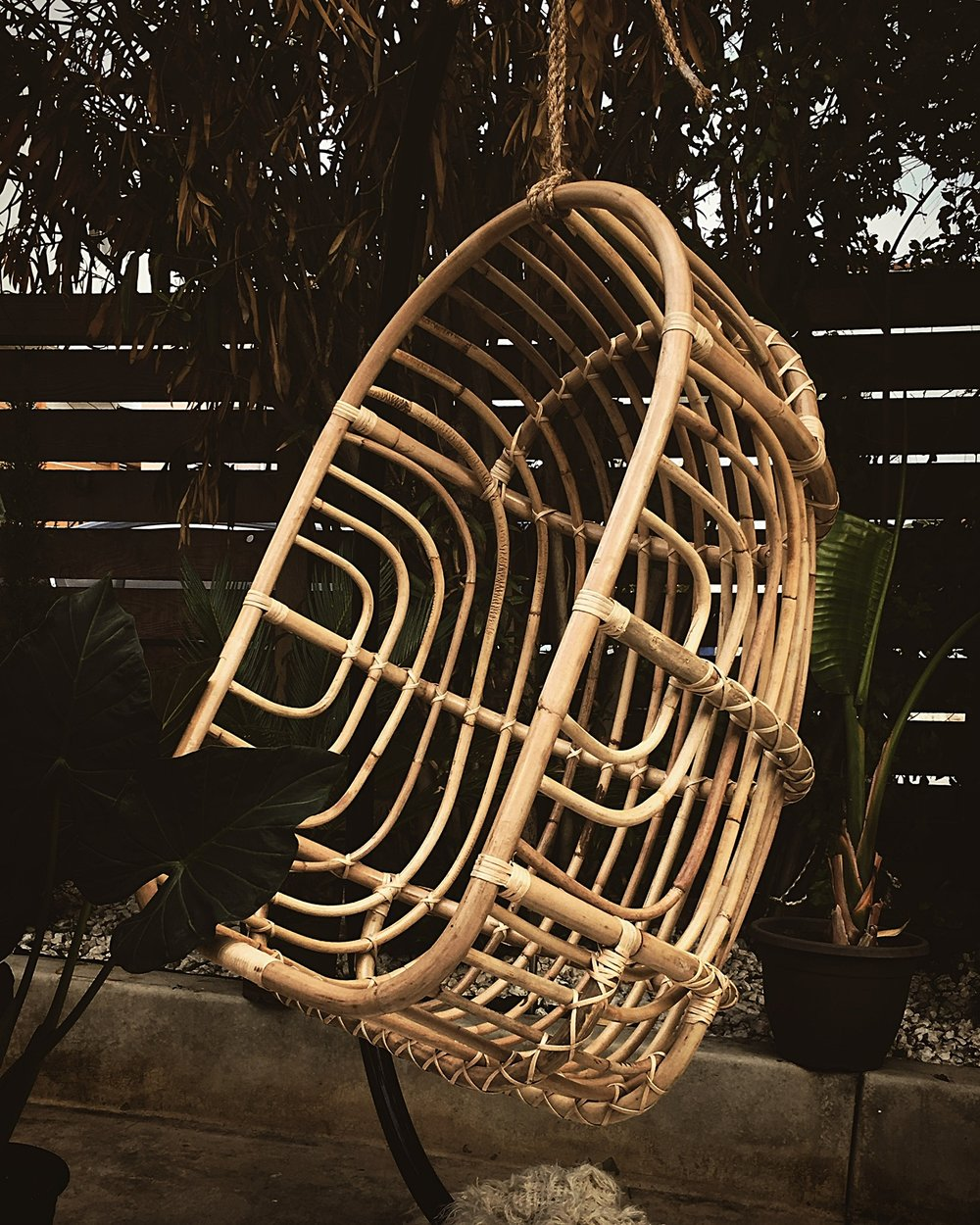 SHOP HANDMADE FURNITURE - Pictured: Our Nest Hanging Chair