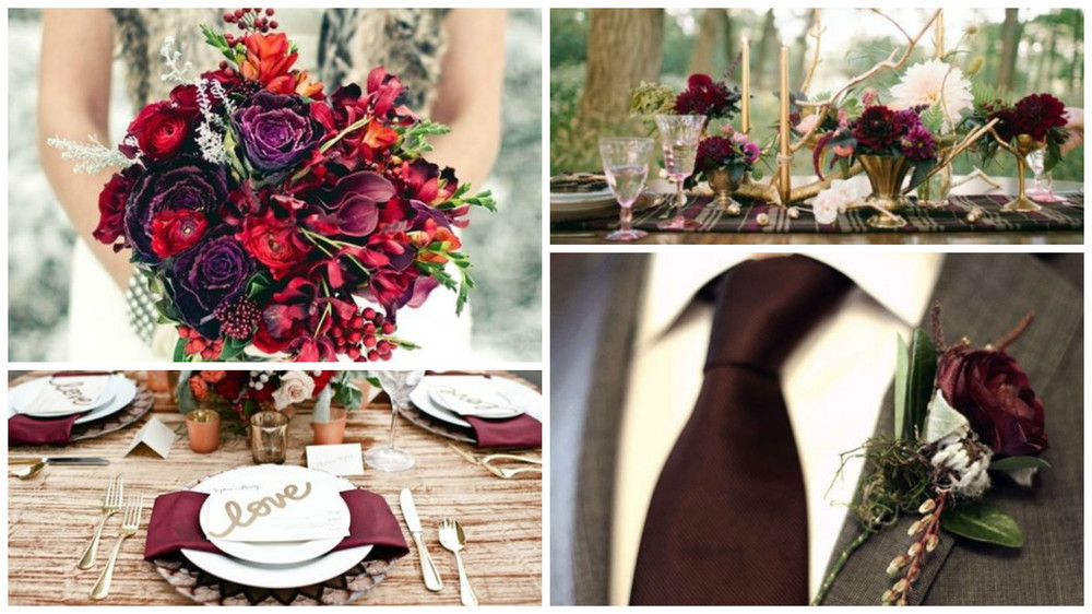 Blog winter wedding color palettes these rich wine hues of burgundy merlot garnet berry and crimson are one of my favorite color palettes this season inspiring a gorgeous winter wedding junglespirit Images