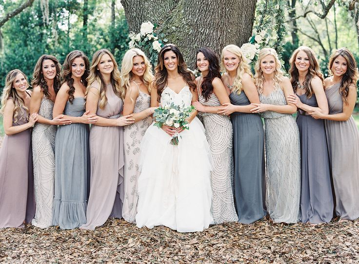 bridesmaid dress wedding mix and match wedding planner wedding planning madison wi