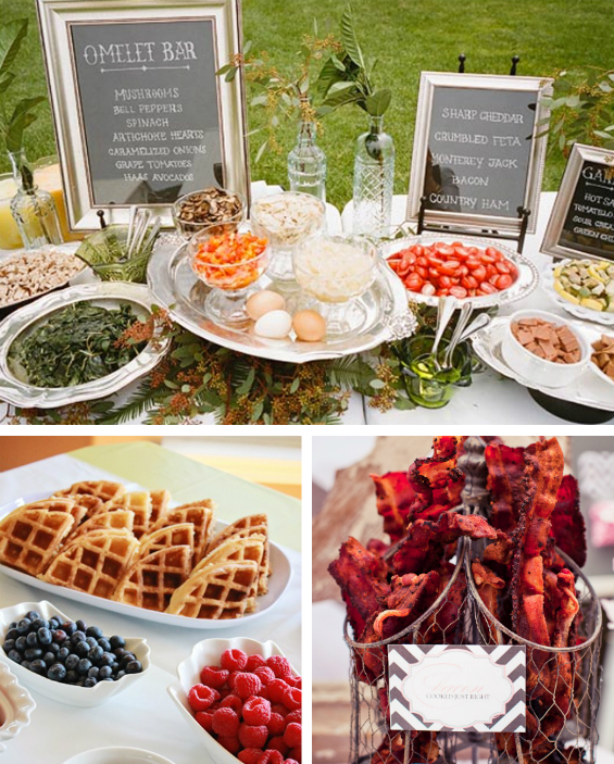 brunch wedding madison wi oshkosh wi green lake wi wedding planning