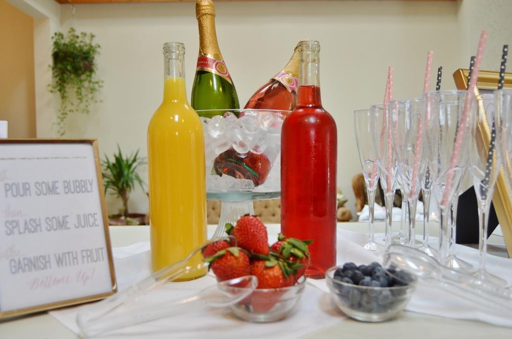 bubbly bar mimosa bar