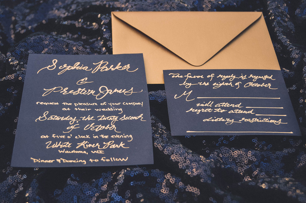 gold calligraphy wedding calligraphy gold wedding