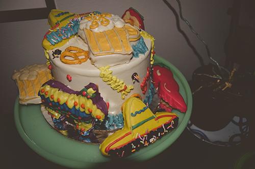 oktoberfest cake mexican cake