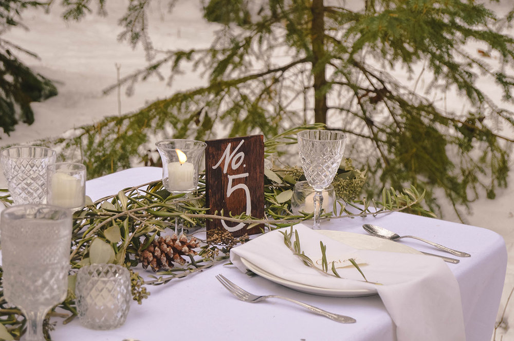 organic natural greenery wedding
