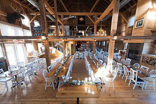 barn wedding vintage romance event design wisconsin