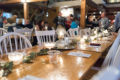 tablescape greenery white wedding table inspiration wisconsin wedding