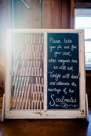 place card seating chart wedding clothespin escort cards