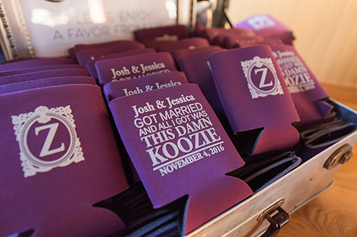 koozie guest favors wisconsin beer koozies wedding ideas