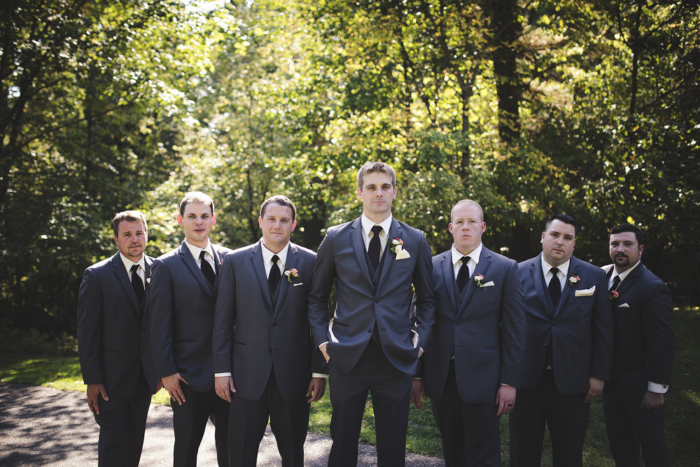 grey gray tuxedos suits wedding groomsmen attire wedding planner madison wisconsin