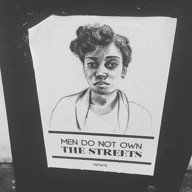 💪🏻 #street #powerful #streetart #men #women #equality #advertising #london