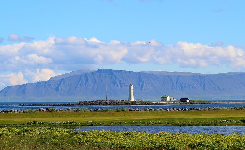 Lighthouse in Reykjavik