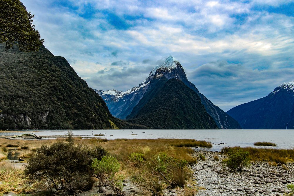 North & South Islands of New Zealand -