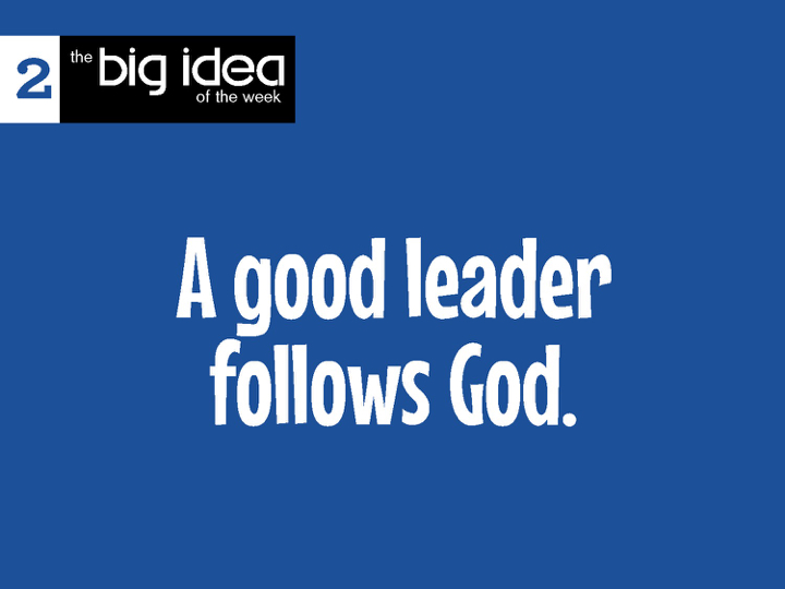 So this was the   big idea   this week. We got the kids feedback of what they consider to be a good leader as well as a bad leader. Needless to say we had some interesting comments for each, but they were thinking. The best way for Restore Kids to learn of good leaders following God is from their parents in every day situations.
