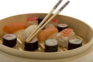 Sushi, japanisches Essen
