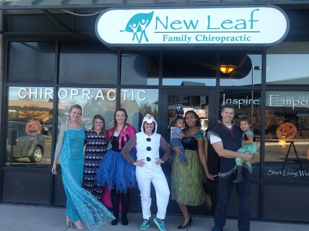All Dressed up as the cAst from Frozen for Halloween!