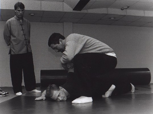 Chin Na class. Averill's Martial Arts. circa 1999