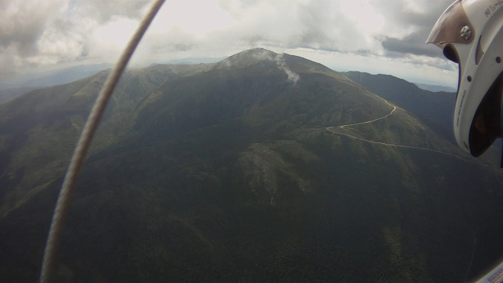 View of Mt. Washington from 7000 feet - 2012