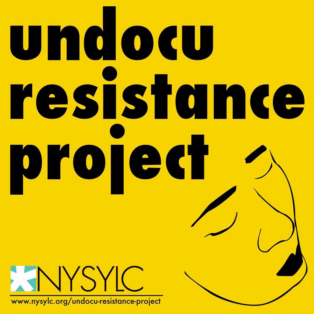 Undocu Resistance Project Logo