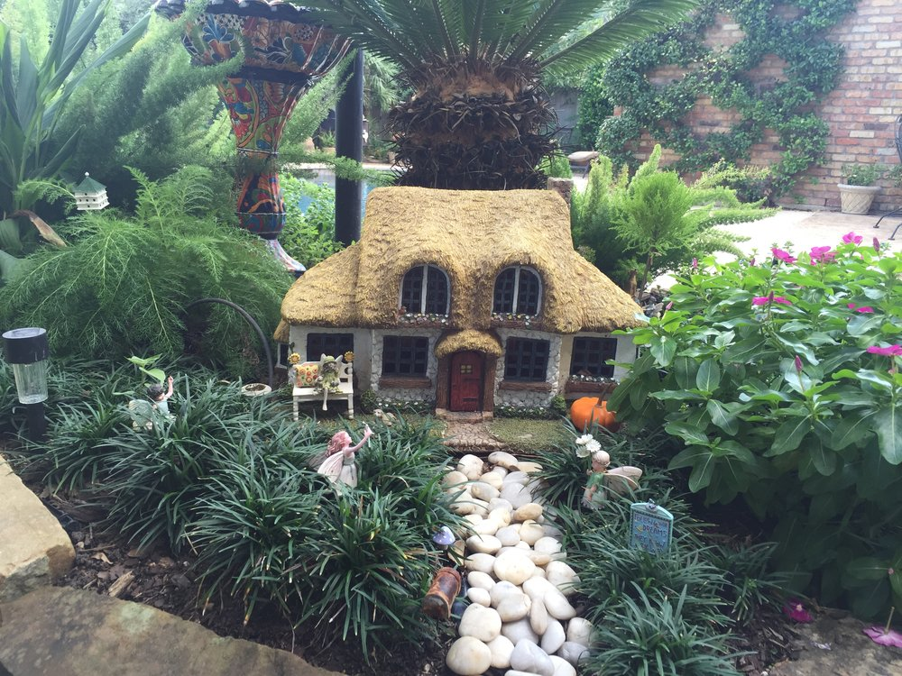 """Follow your Dreams....They Know the Way"" Fairy Garden"