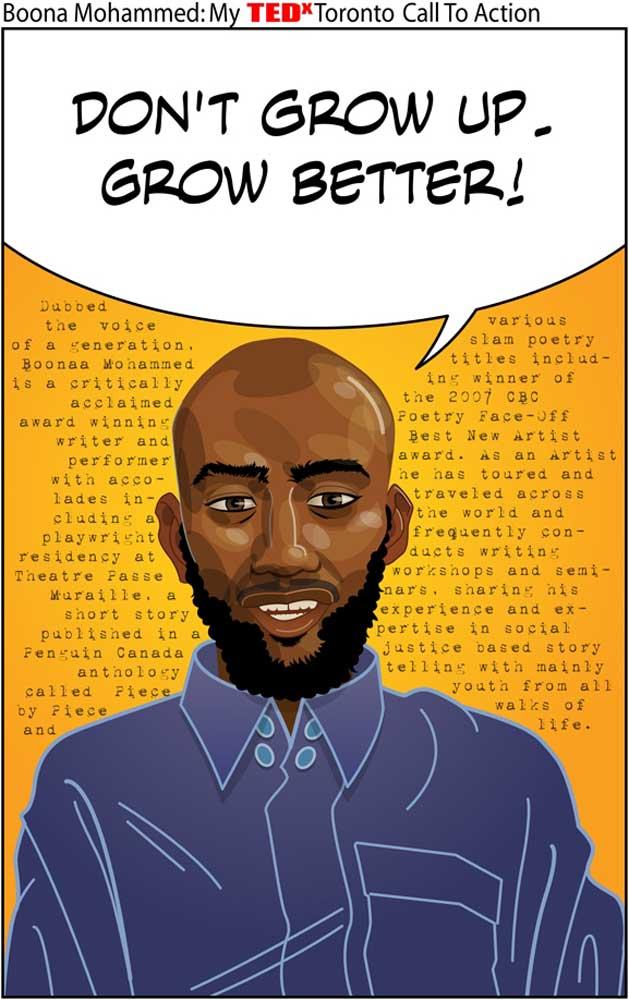 Boonaa Mohammed: Poet