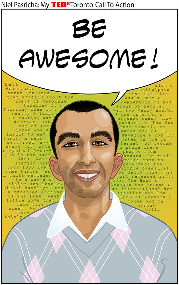 Neil Pasricha: author, The Book of Awesome