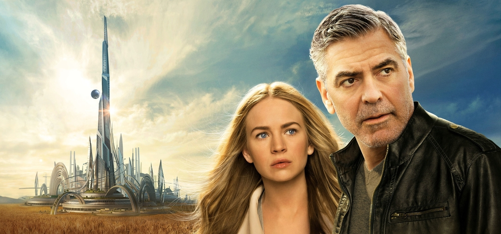 Disney's Tomorrowland   -- the first theatrical release in Dolby VIsion.