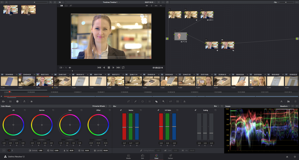 Davinci Resolve 12 - Beta version - Color Interface
