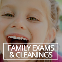 Family Exams & Cleanings