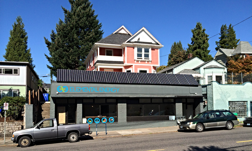 5kW Commercial Solar - Portland, Oregon