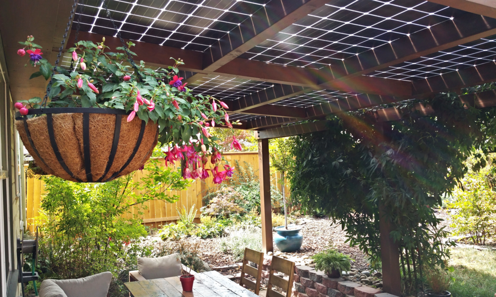 3.6kW Bi Facial Solar Patio Cover   Portland, Oregon
