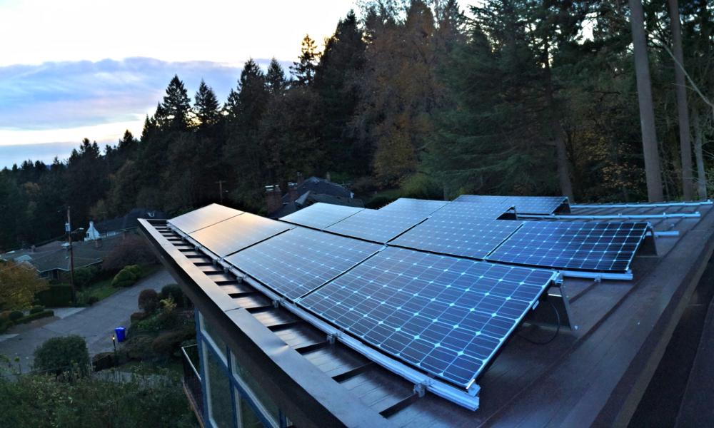 5.3kW Residential Solar - Portland, Oregon - Net Zero