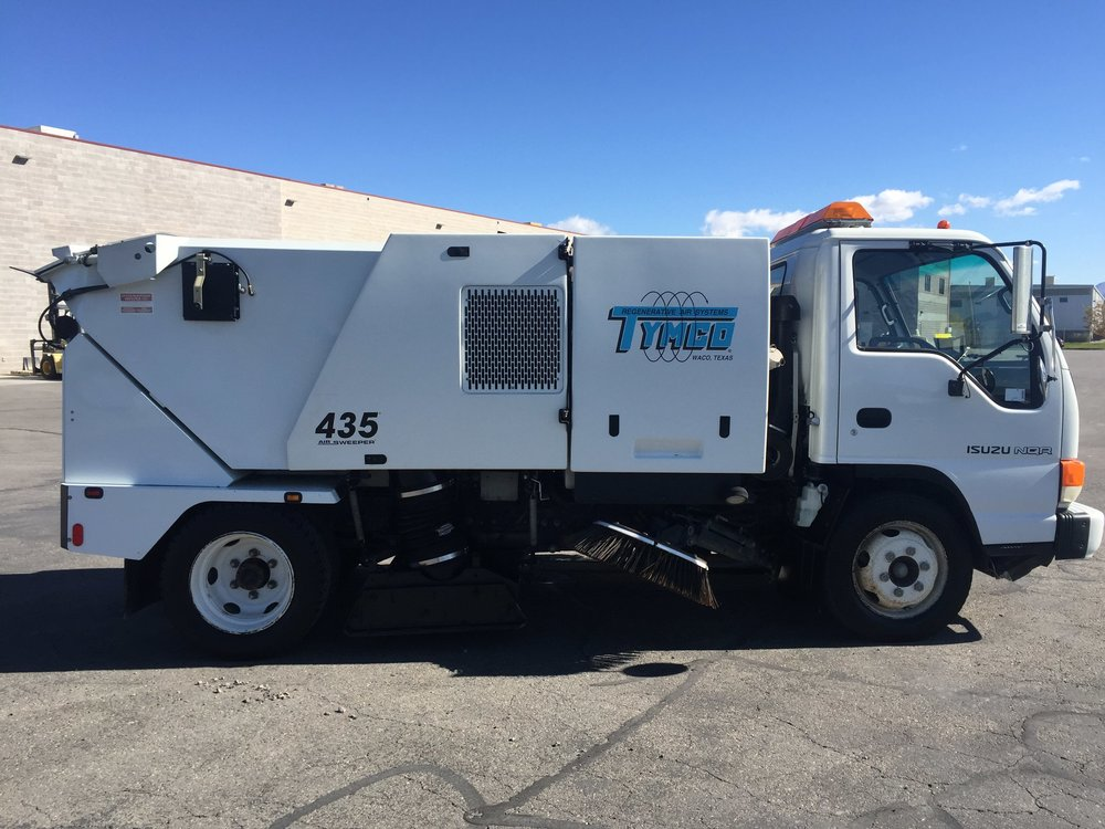 Tymco 435 sweeper for sale