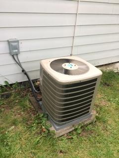 New A/C unit install
