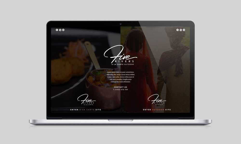 Landing Page for The Five Rivers Group